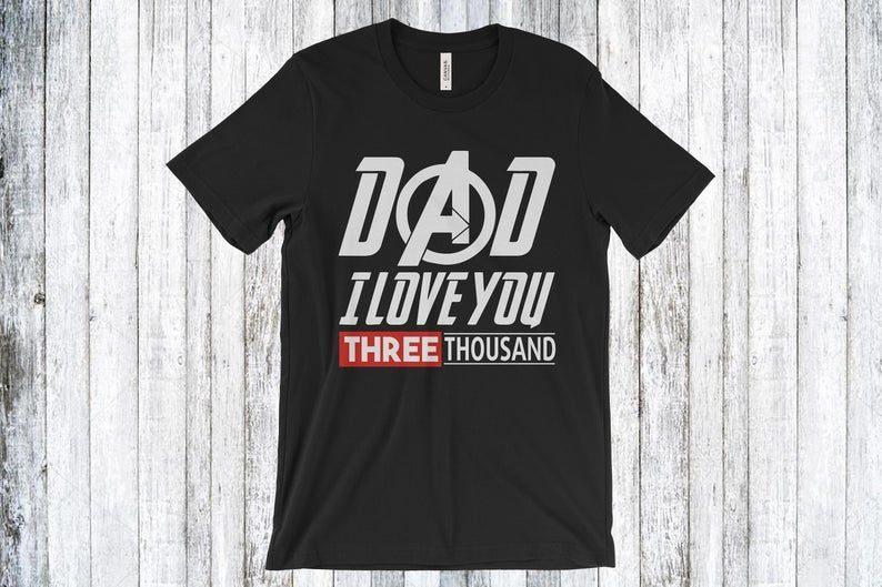 84c0787b0 I Love You 3000 Times T-shirt - Reviewshirts Office