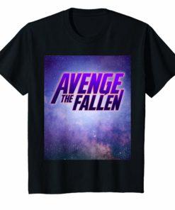 Avenge The Fallen Superhero Themed T-Shirt