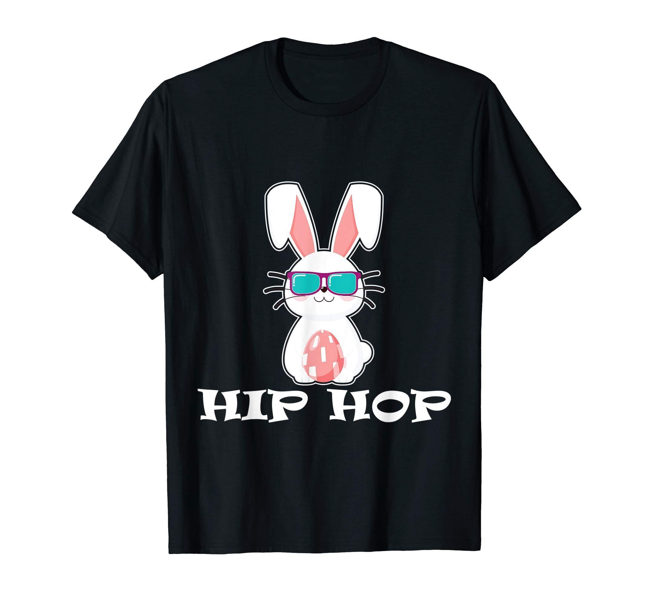 a1424a3f2 Cute Hip Hop Bunny Easter T Shirt Eggs Gift Kid Toddler Girl ...