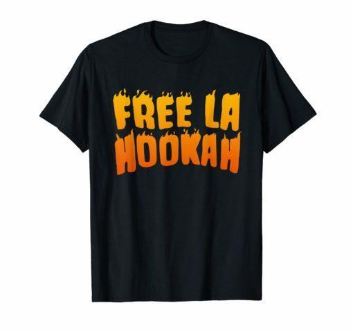 FREE LA HOOKAH TSHIRT
