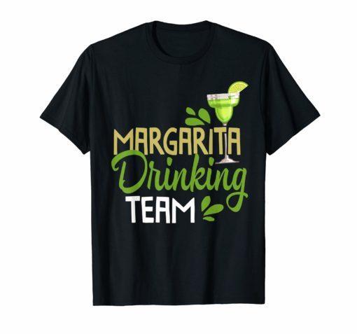 Funny Margarita Drinking Team Mexican Cinco De Mayo Tshirt
