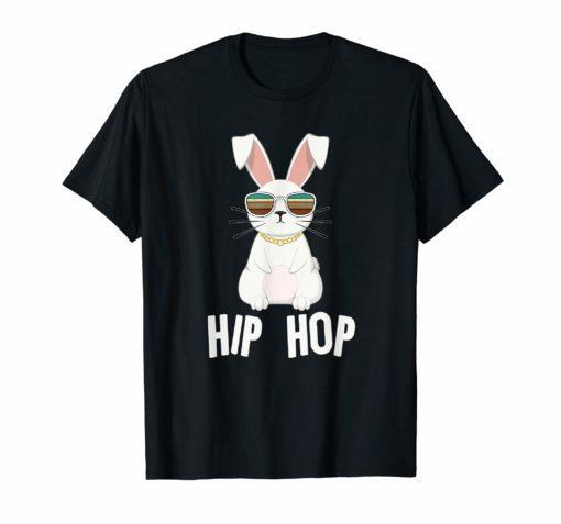 Hippity Hip Hop Bunny T Shirt Toddler Easter Bunny Rap Shirt