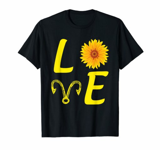 I Love Fishing And Sunflower T Shirt Gift For Fishing Lovers