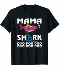 Mama Shark T-shirt Doo Doo Doo