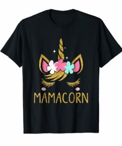 Mamacorn Unicorn Mama T-Shirt Mother's Day Gift