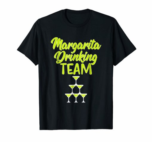 Margarita Drinking Team Funny Cinco de Mayo Fiesta Shirt