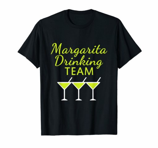 Margarita Drinking Team T-Shirt Cinco De Mayo Women Men