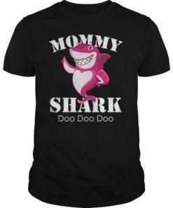 Mommy Shark Mom Mama Matching Family Shark Shirt