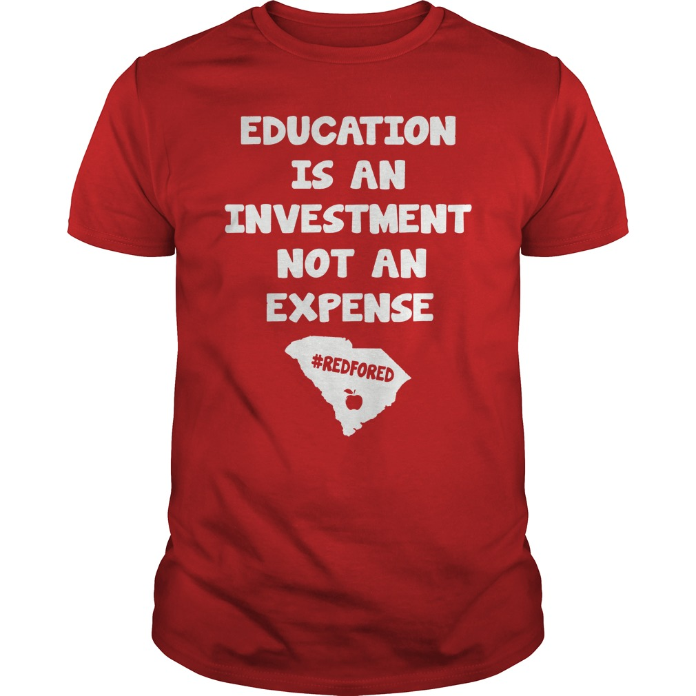 Red For Ed South Carolina Education Teachers T Shirt Gifts