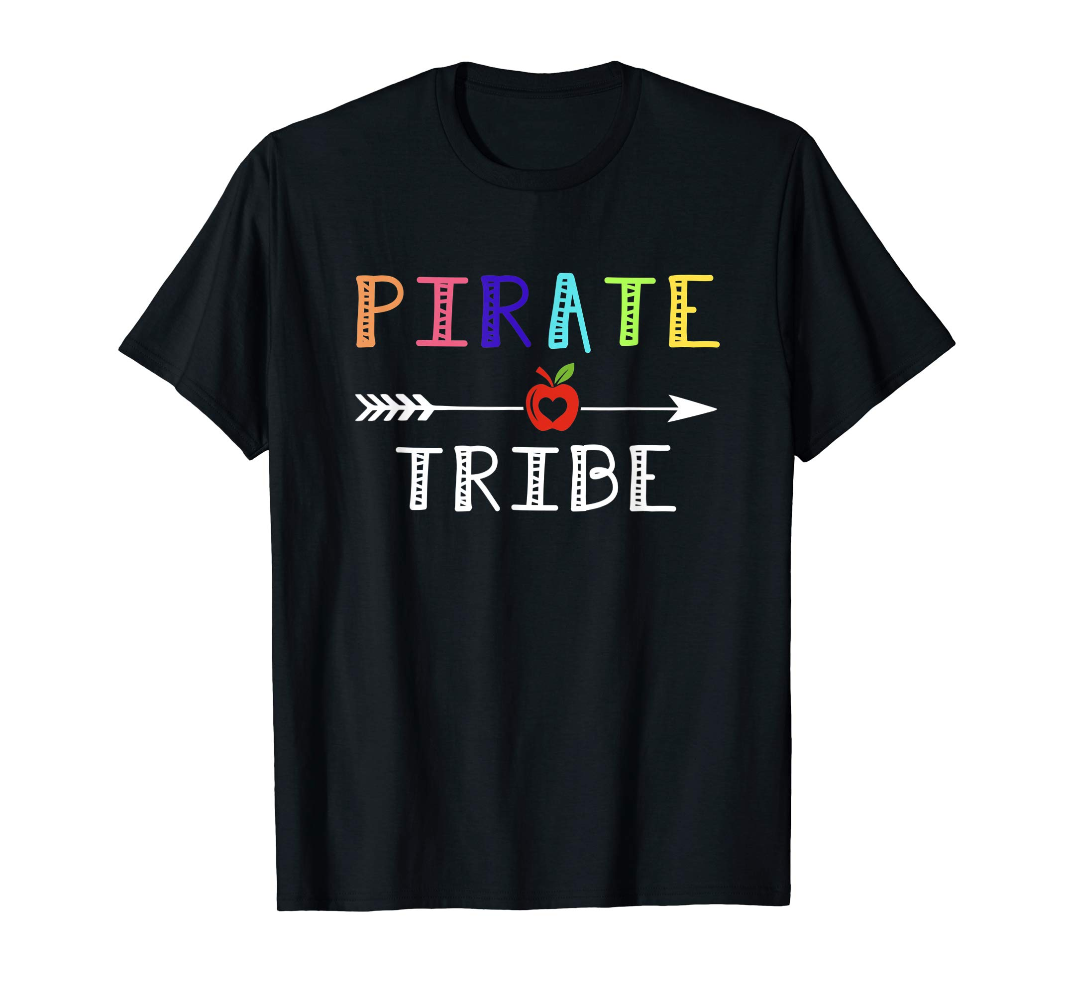 b66170e0 Team Pirate Teacher Tribe Back To School Tee Shirt - Reviewshirts Office