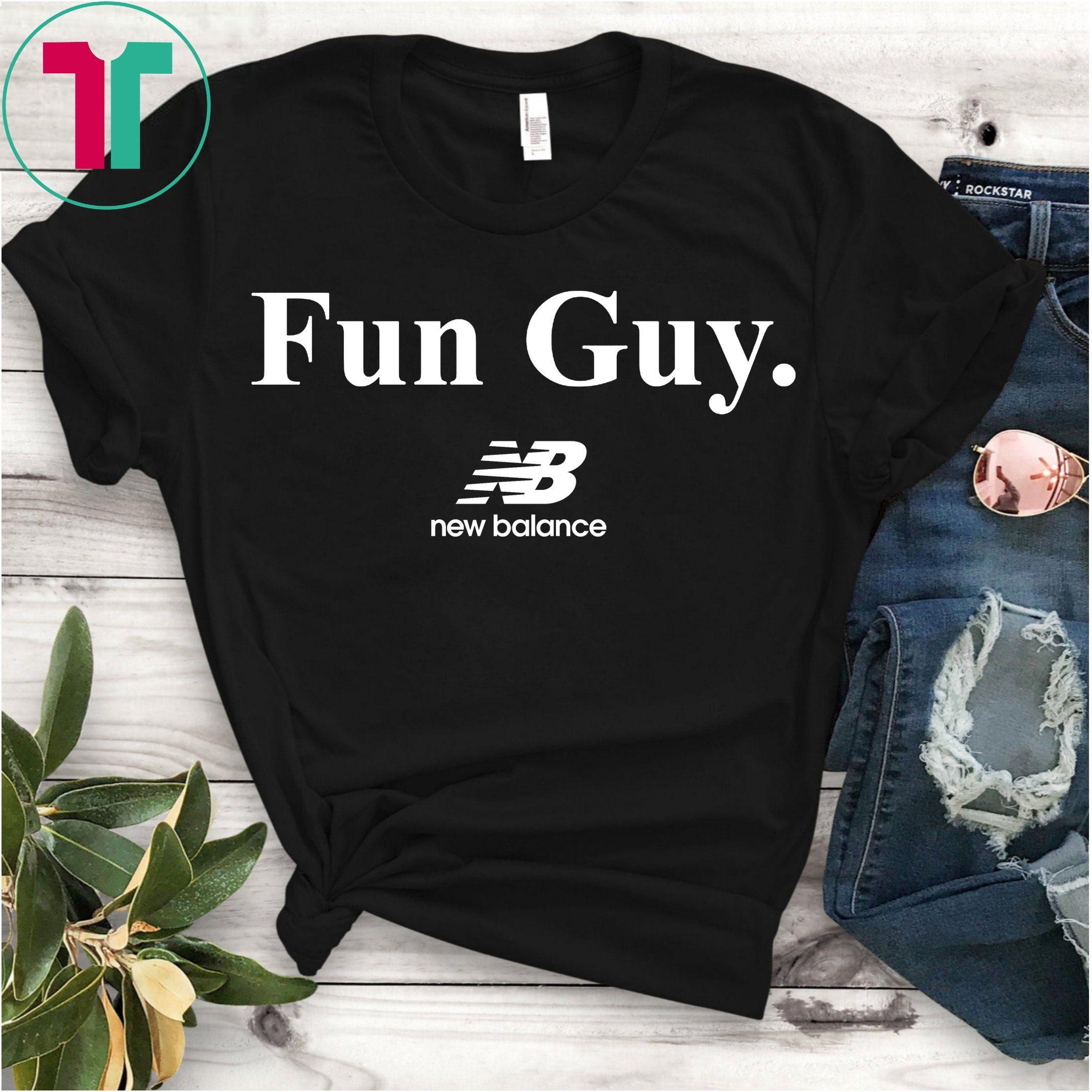 adb6256ed5f Kawhi Leonard Fun Guy New Balance Toronto Raptors T-Shirt