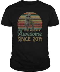 5th Birthday Gift Shirt Dinosaur 5 Year Old Tshirt