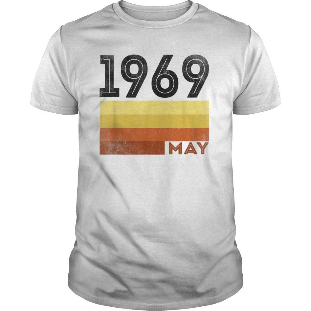 6e9ac6ec6 May 1969 T Shirt 50 Year Old Shirt 1969 Birthday Gift - Reviewshirts ...