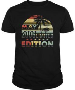 May 2006 T-Shirt 13th Gift 13 Years Old Shirt T-Shirt