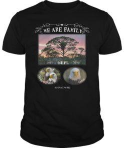 We Are Family NEFL Season 2018-2019 T-Shirt