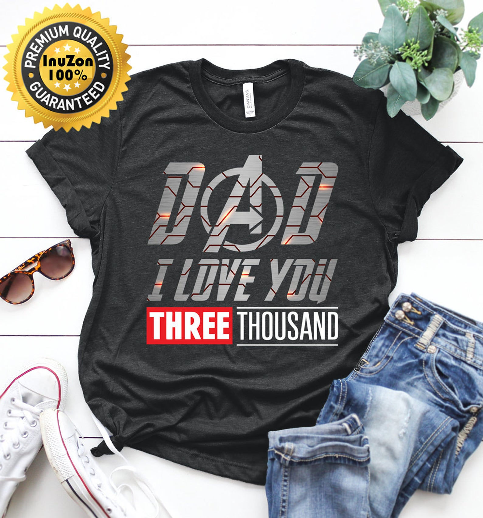 2cd6c6b5 Dad I Love You Shirt Gift Father's Day - Reviewshirts Office