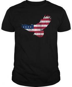 4th Of July American Flag Freedom Eagle T-Shirt USA