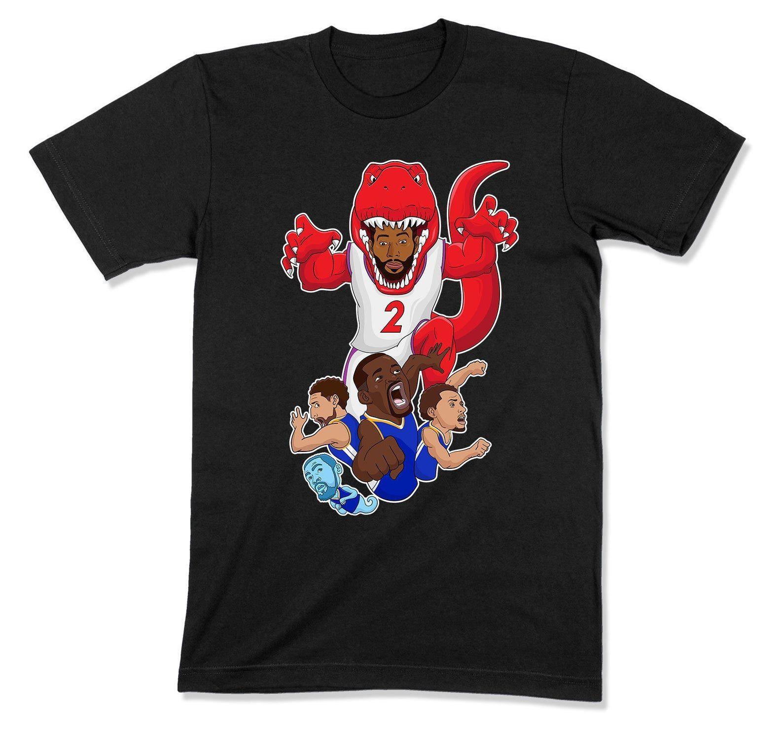 caca9fa93a3 Kawhi Leonard Shirt Raptors Finals Champ T Shirt Toronto Jurassic Park T  Shirt We The North