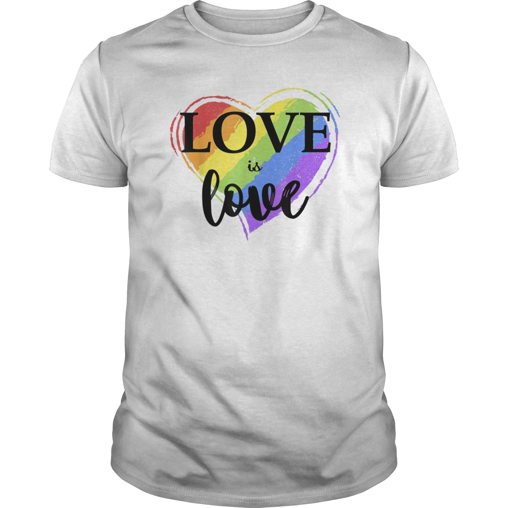 33e736307 Love is Love LGBT T-shirt Gay Pride Tee - Reviewshirts Office