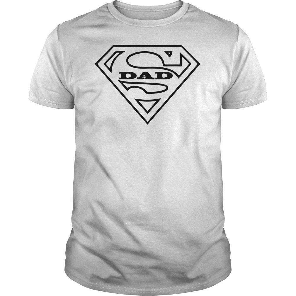 8ffce0dd Mens Super Dad Comic Book Style Fathers Day Gift Superhero Gift TShirt