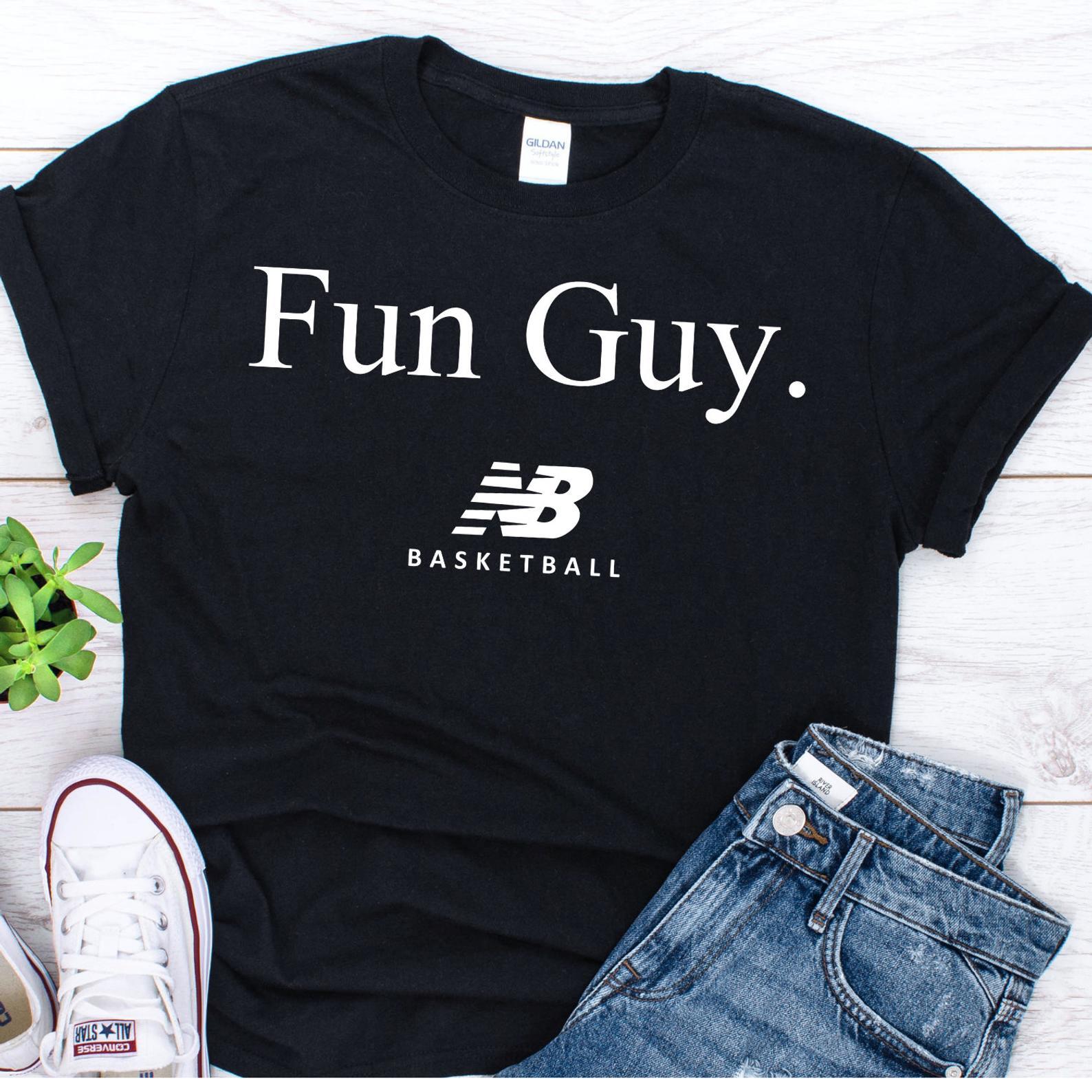 1392dfe96da New Balance Fun Guy Shirt Kawhi Leonard Toronto Raptors T-Shirt