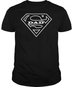 fab2b1c8 Super Dad T Shirt Father's Day Shirt Cool Funny Gift Men Tee