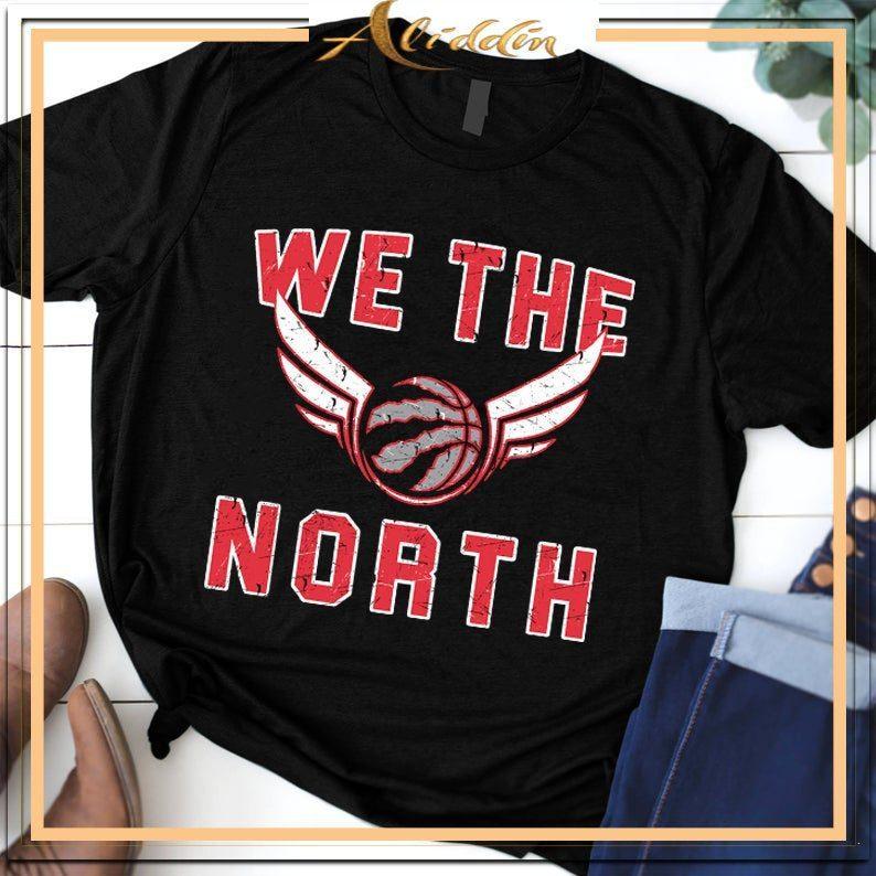 brand new c8565 3ca4a WE THE NORTH Toronto Raptors Champions 2019 NBA Finals Shirt