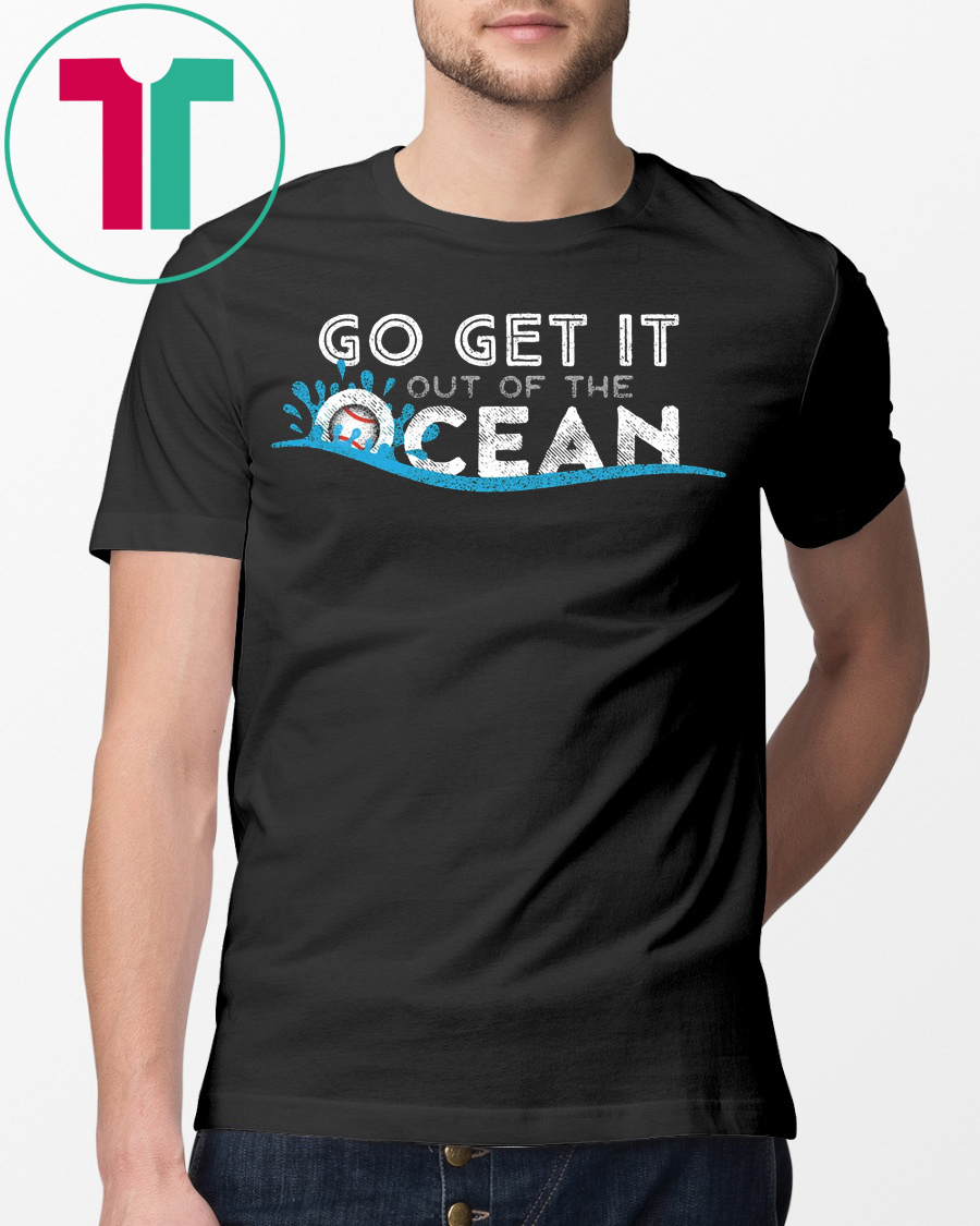 Womens Go Get It Out Of The Ocean LA Dodgers T-Shirt - Reviewshirts Office