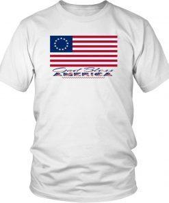 1776 Betsy Ross Flag Gift Shirt American Flag Shirt 13 Stars American Flag Shirt God Bless America Graphic Tee Shirt Original American Flag Tee