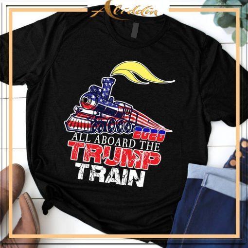 2020 All aboard the trump train Unisex T-Shirt