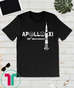 50th Anniversary Apollo 11 Moon Landing 1969 Shirt, Apollo Anniversary