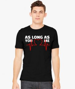 Backstreet Boys Love Heart As Long As You Love Me T-Shirt