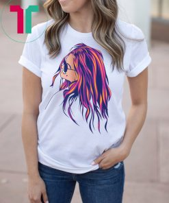 Beautiful Hippie Soul Girl Loving Life, Peace & Freedom T-Shirt