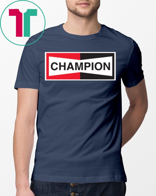 Champion Spark Plug 2019 Shirt - Reviewshirts Office