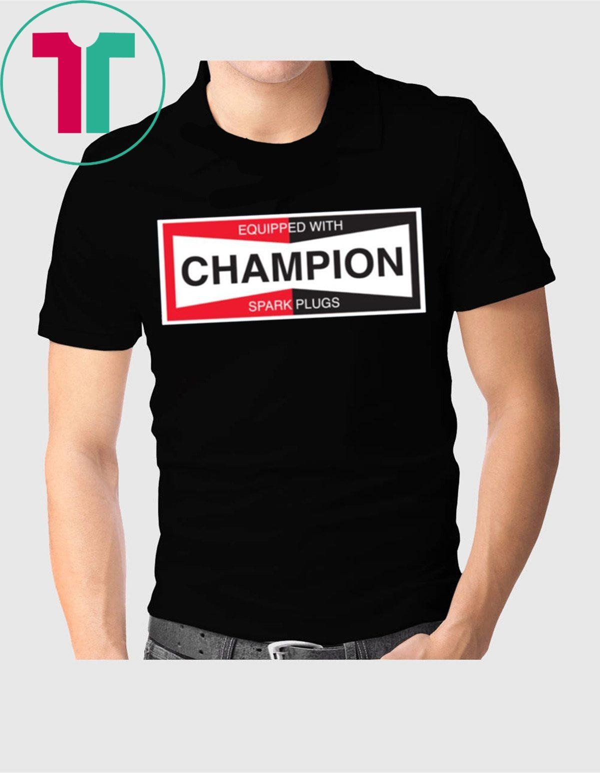 Champion Spark Plug Shirt