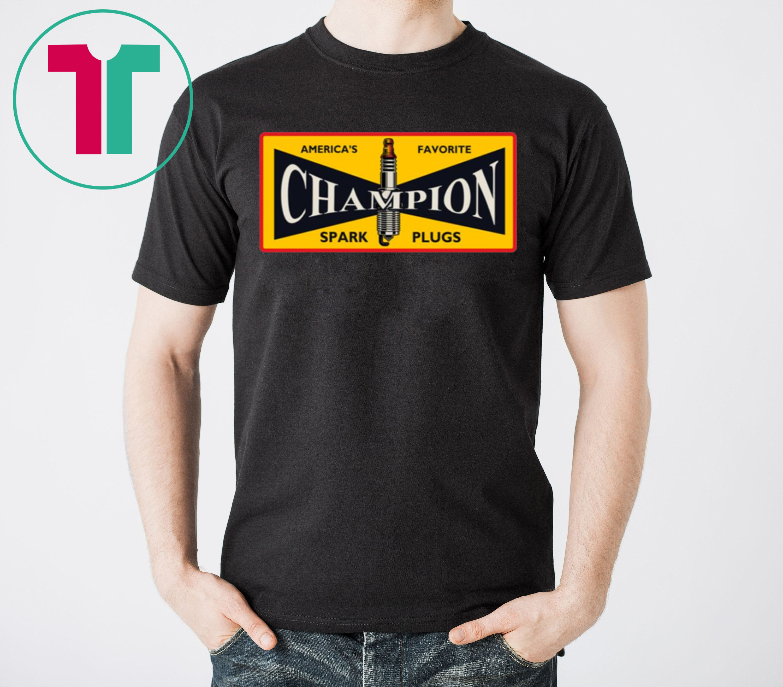Champion Spark Plug T-Shirt