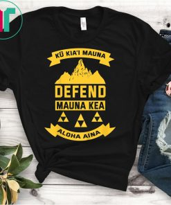 Defend Ku Kiai Mauna Shirt Kapu Aloha Hawaii Power of Love T-Shirt