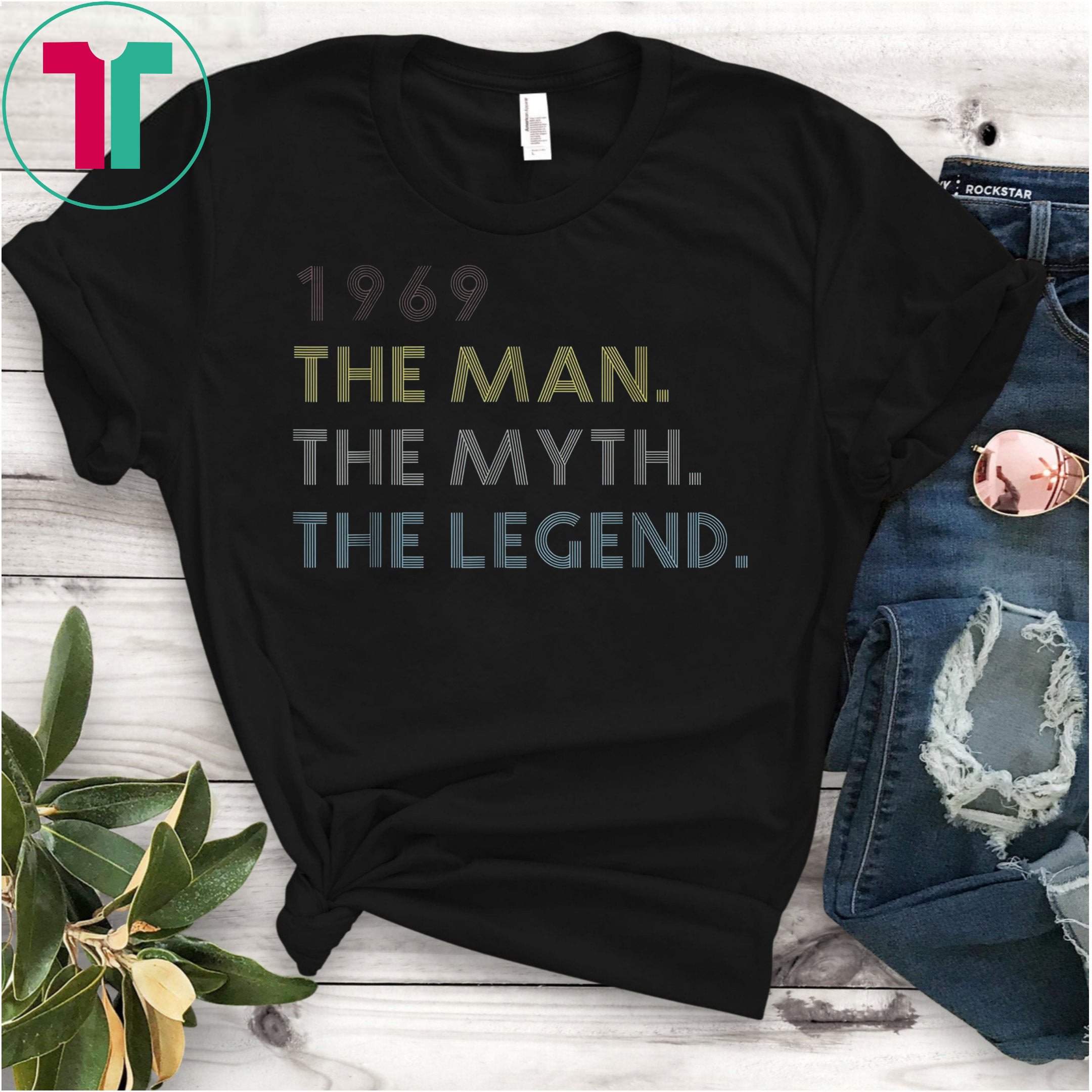 Men The Myth The Legend 1969 50th Birthday Gift Father Funny Gift