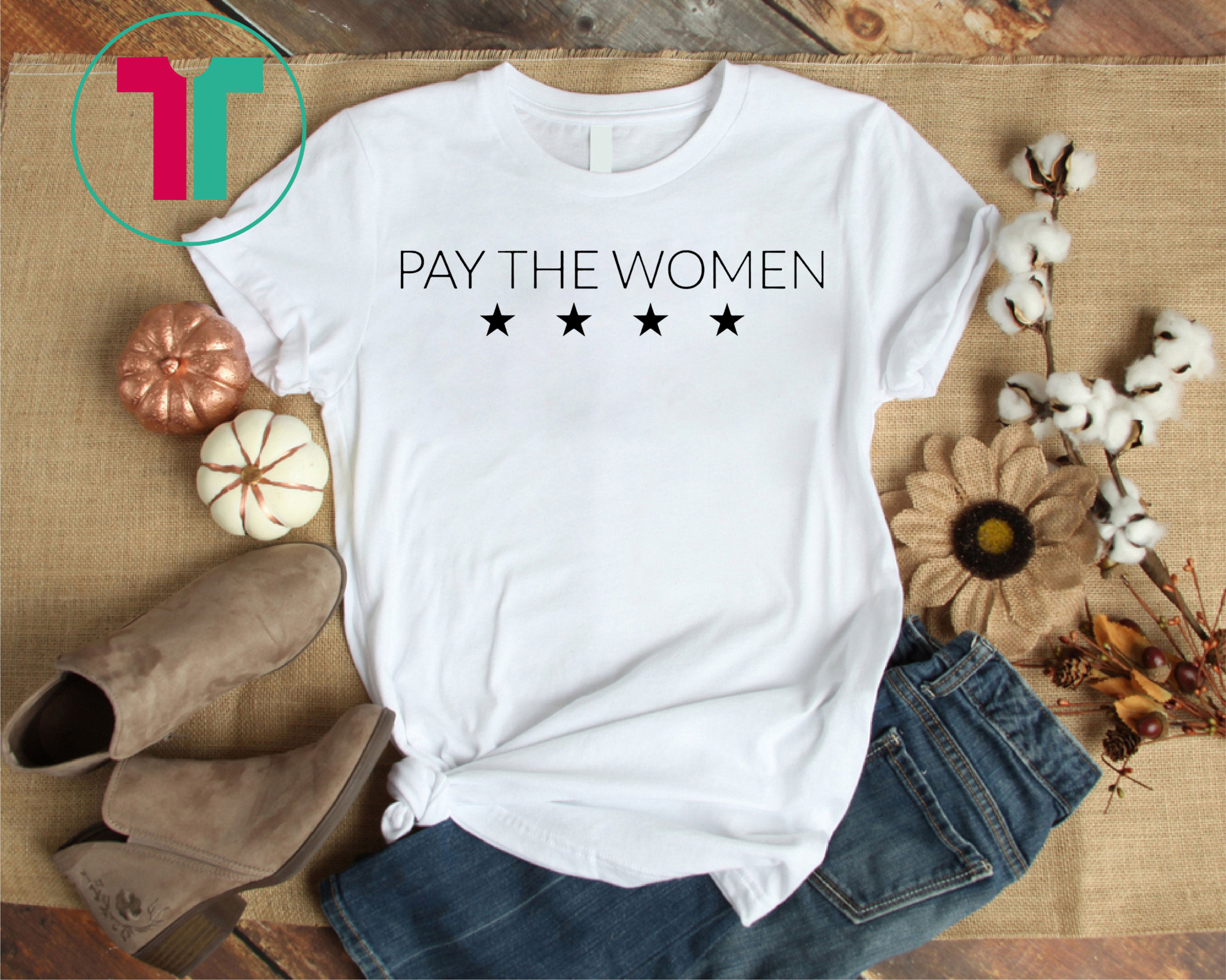 finest selection 7ab95 e5f20 Pay The Women 4 Stars Shirt USWNT Shirt 4th Time World Cup Shirt