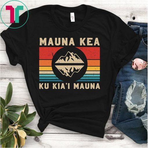 Protesters Mauna Kea Protect Ku Kia'i Mauna Hawaii Shirt