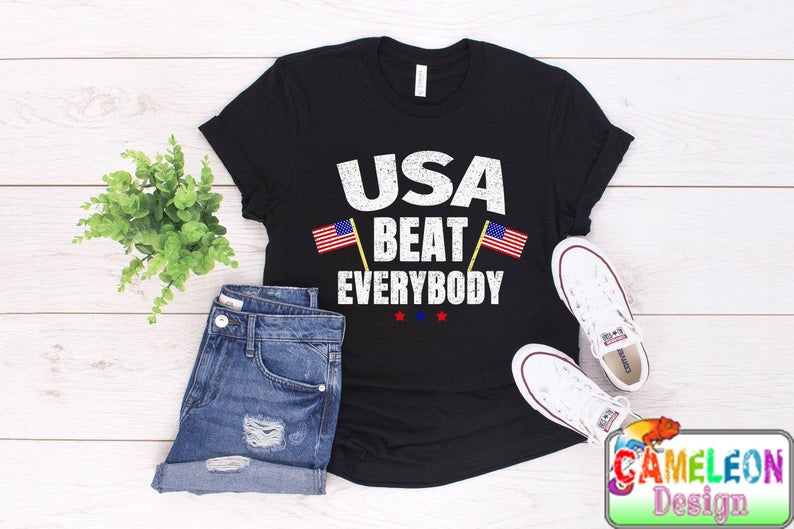 best sneakers 9f4e9 03ceb Usa Beat Everybody Football shirt usa vs everybody uswnt shirt us women's  soccer women's world cup world cup 2019 france 2019