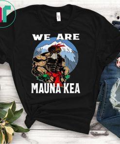 We Are Mauna Kea Hawaii Warrior Protest Rally T-Shirt