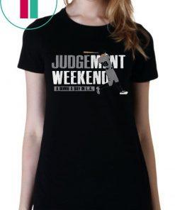 Aaron Judge Shirt - Judgement Weekend, New York, MLBPA