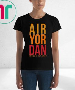 Air Yordan Alvarez Houston Astros Tee Shirt