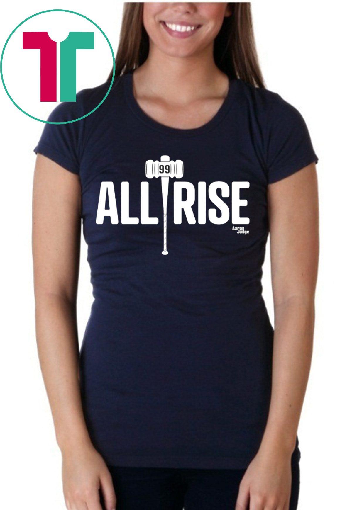 wholesale dealer 25007 a899e All Rise For 100 Home Runs New York Yankees T-Shirt - Reviewshirts Office