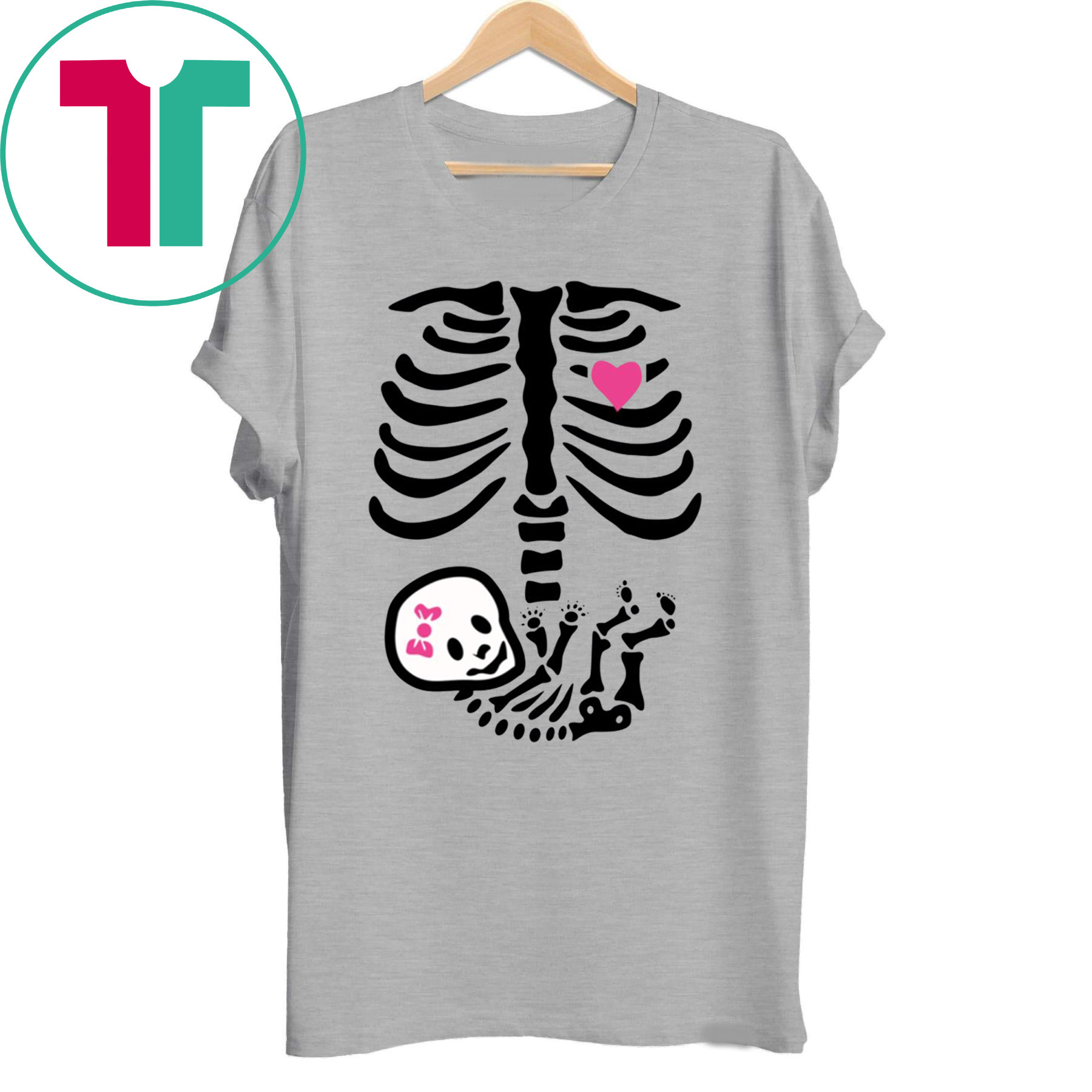 Halloween Pregnancy T Shirt.Baby Girl Skeleton Halloween Pregnancy Shirt Reviewshirts Office