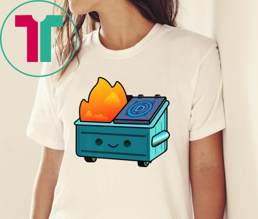 Democratic Dumpster Fire Shirt for Mens Womens Kids