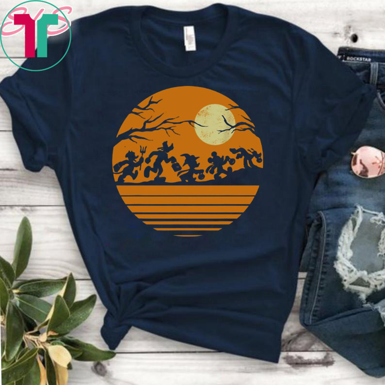 Disney Halloween Shirts 2019.Disney Mickey Mouse And Friends Halloween T Shirt