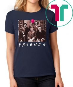 Friends IT Spooky Clown Jason Squad Horror T-Shirt IT Spooky Clown Jason Squad Horror T-Shirt