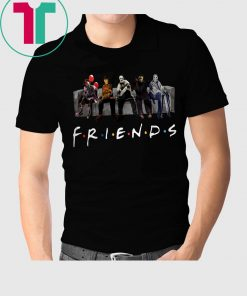 Friends Horror Movies Characters Shirt